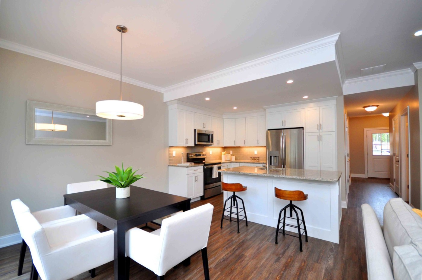 Highcroft Townhomes Kitchen Dining